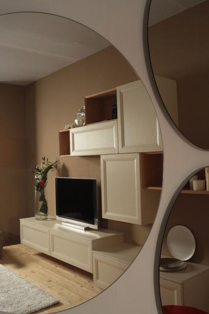 living system carlini interni. Black Bedroom Furniture Sets. Home Design Ideas