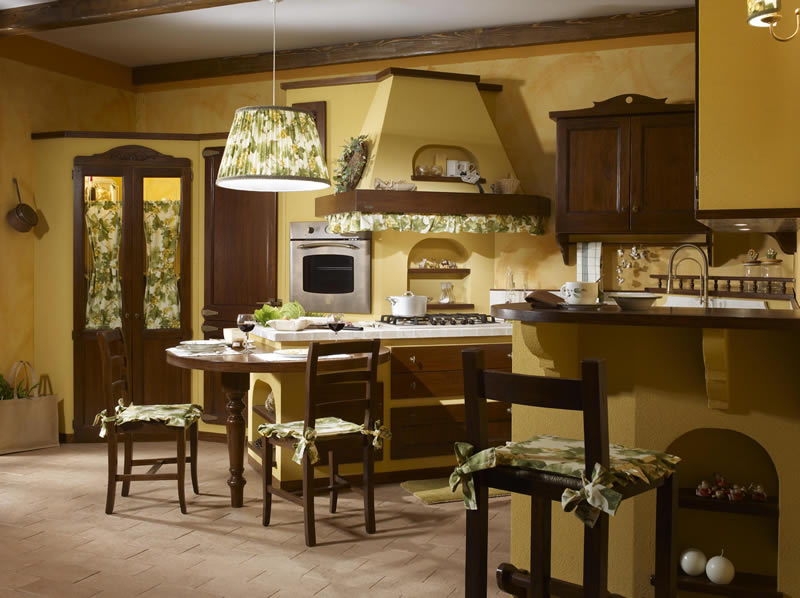 Cucina vecchio casale carlini interni - Interni casali ...